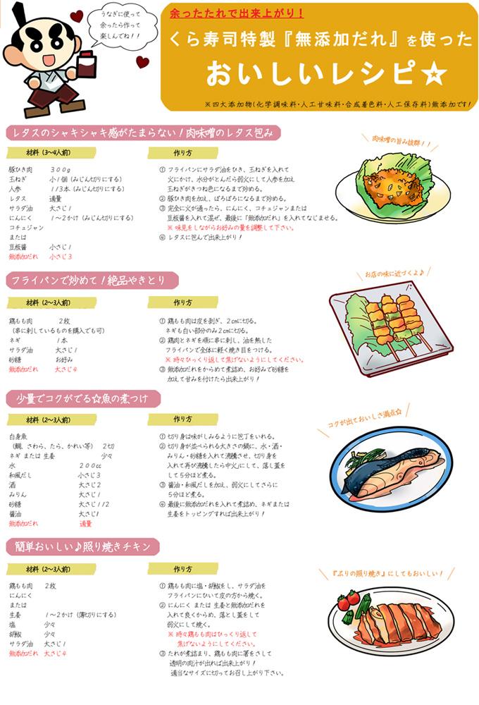 うなぎのたれレシピ